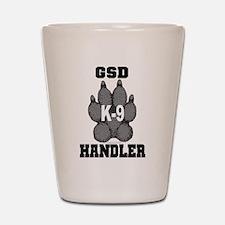 GSD K9 Handler Shot Glass