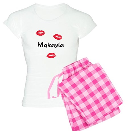 Makayla kisses Women's Light Pajamas