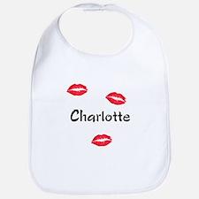 Charlotte kisses Bib