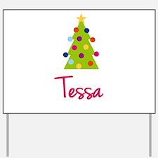 Christmas Tree Tessa Yard Sign