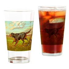 Gordon Setter Cassel 1881 Drinking Glass