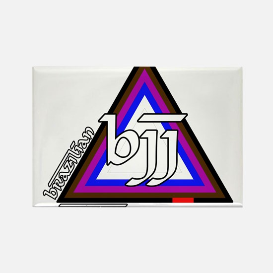 BJJ - Brazilian Jiu Jitsu - C Rectangle Magnet
