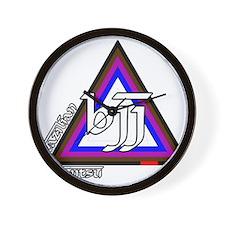 BJJ - Brazilian Jiu Jitsu - C Wall Clock