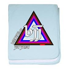 BJJ - Brazilian Jiu Jitsu - C baby blanket