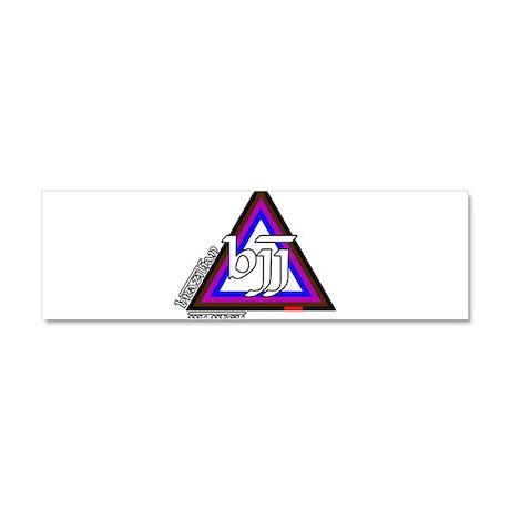 BJJ - Brazilian Jiu Jitsu - C Car Magnet 10 x 3