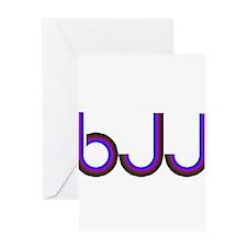 BJJ - Brazilian Jiu Jitsu - C Greeting Card