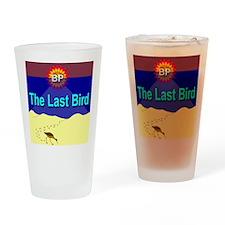 The Last Bird Drinking Glass
