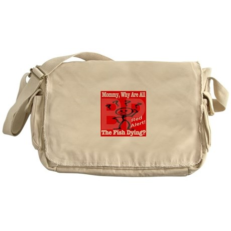 Why are the fish dying? Messenger Bag