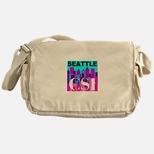 Seattle CSI Messenger Bag