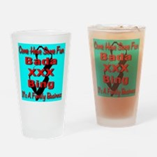 Bada XXX Bing Drinking Glass
