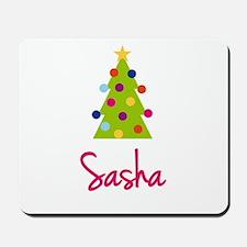 Christmas Tree Sasha Mousepad