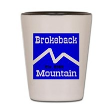 Brokeback Mountain Elv. 6969 Shot Glass