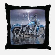1969 Shovelhead Throw Pillow