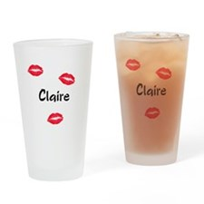 Claire kisses Drinking Glass