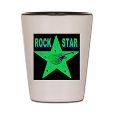 Rock Star Exotic Jade Shot Glass