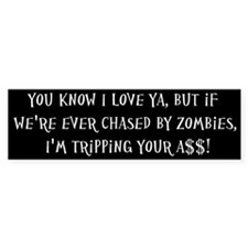 Zombies (Bumper Sticker)