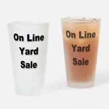 On Line Yard Sale Drinking Glass