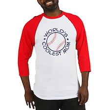 World's Coolest Baseball Mom Baseball Jersey