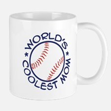 World's Coolest Baseball Mom Mug