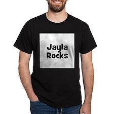 Jayla Rocks Black T-Shirt