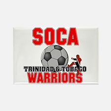 Soca Warriors TNT Rectangle Magnet