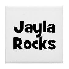 Jayla Rocks Tile Coaster