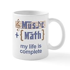 Music and Math Mug