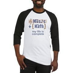 Music and Math Baseball Jersey