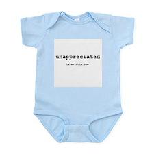 """""""unappreciated"""" Infant Creeper"""
