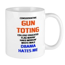 Obama Hates Me Small Mug