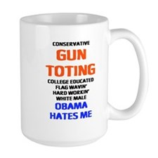 Obama Hates Me Mug