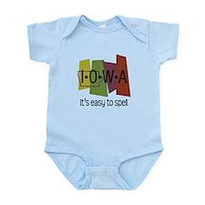Iowa Easy to Spell Infant Bodysuit