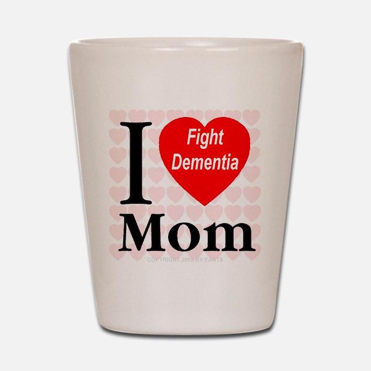 Fight Dementia Shot Glass