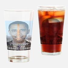 President Barack Obama Drinking Glass