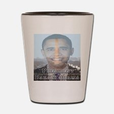 President Barack Obama Shot Glass