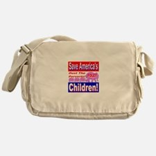 Save America's Children Oust Messenger Bag