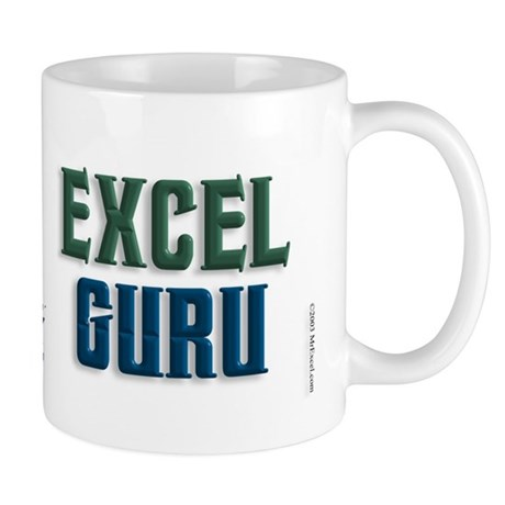 Pivot Table Your Data Excel Guru Mug