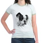 French Bulldog Jr. Ringer T-Shirt