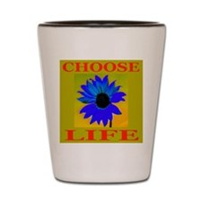 Choose Life Bronze Shot Glass