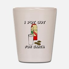 I put out for Santa Shot Glass