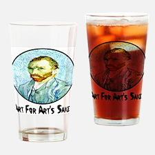 Van Gogh Art For Art's Sake Drinking Glass