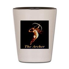 The Archer Shot Glass