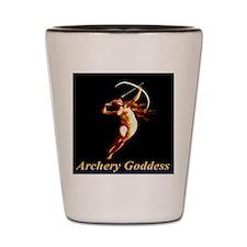 Archery Goddess Shot Glass