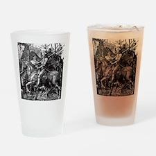 Knight & Devil Durer 1471-1528 Drinking Glass