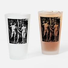 Adam and Eve Durer 1471-1528 Drinking Glass