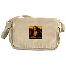 Love Me I'll Ball You Forever Messenger Bag