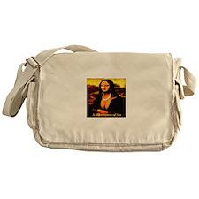 A Masterpiece of Ass Messenger Bag