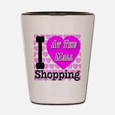 Promote Mall Shopping Shot Glass
