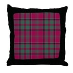 Tartan - MacDonald of Glencoe Throw Pillow