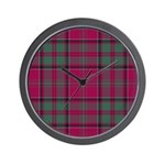 Tartan - MacDonald of Glencoe Wall Clock